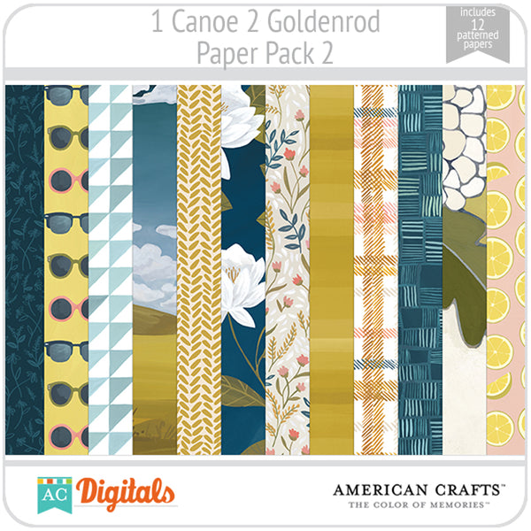 Goldenrod Paper Pack 2