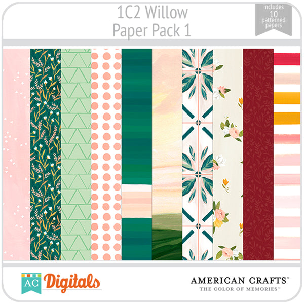 Willow Paper Pack 1