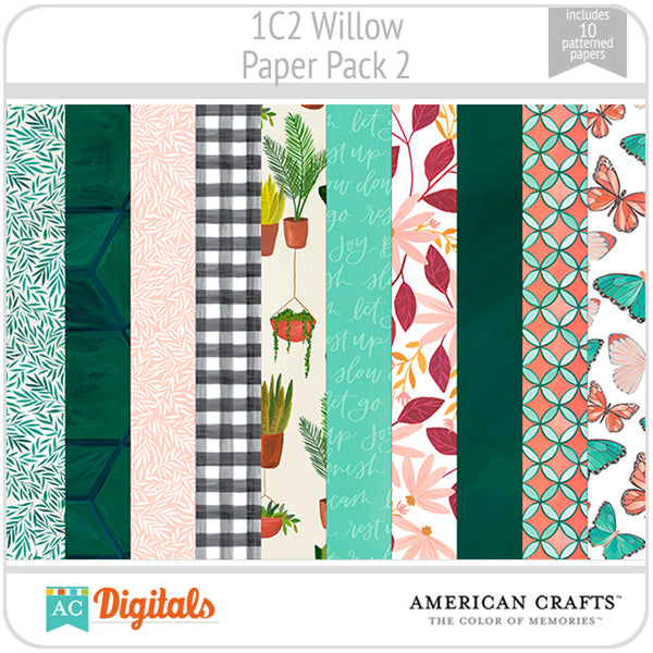 Willow Paper Pack 2