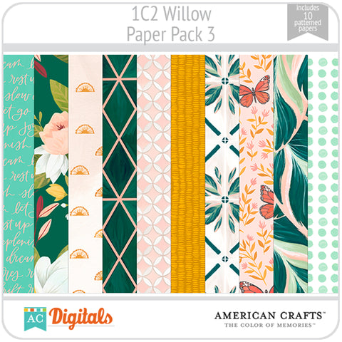 Willow Paper Pack 3