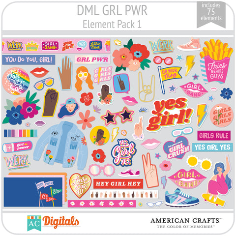 GRL PWR Element Pack 1