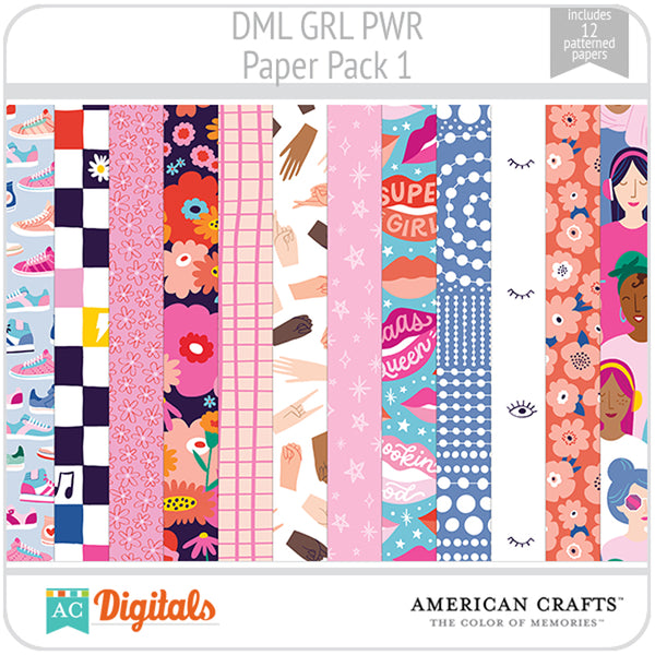 GRL PWR Paper Pack 1