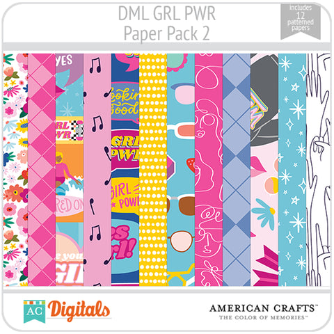 GRL PWR Paper Pack 2