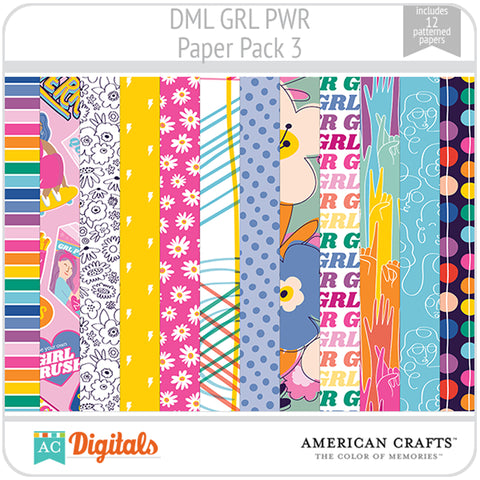 GRL PWR Paper Pack 3