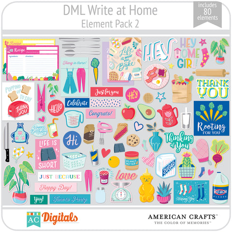 Write at Home Element Pack 2