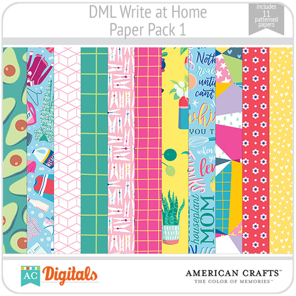 Write at Home Paper Pack 1
