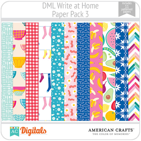 Write at Home Paper Pack 3