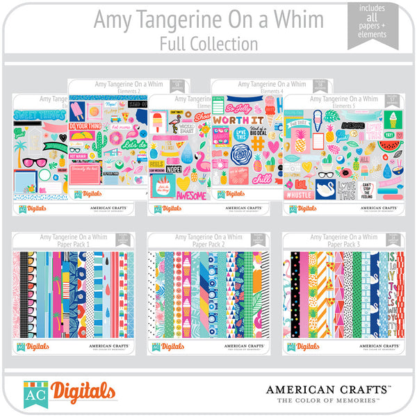 Amy Tangerine On a Whim Full Collection