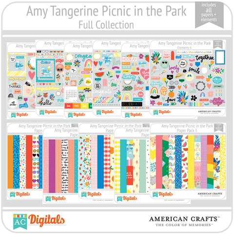 Amy Tangerine Picnic in the Park Full Collection