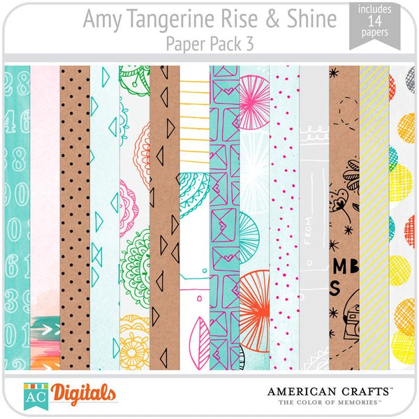 Amy Tangerine Rise & Shine Full Collection