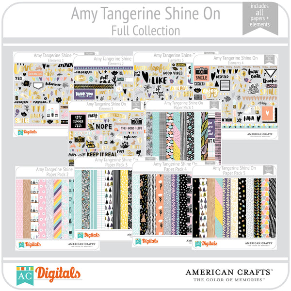 Amy Tangerine Shine On Full Collection