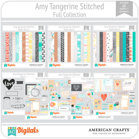 Amy Tangerine Stitched Complete Collection