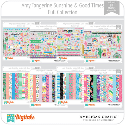 Amy Tangerine Sunshine & Good Times Full Collection