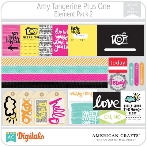 Amy Tangerine Plus One Element Pack 2