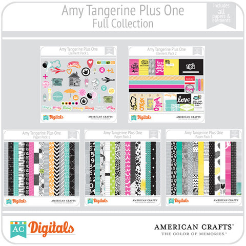 Amy Tangerine Plus One Full Collection