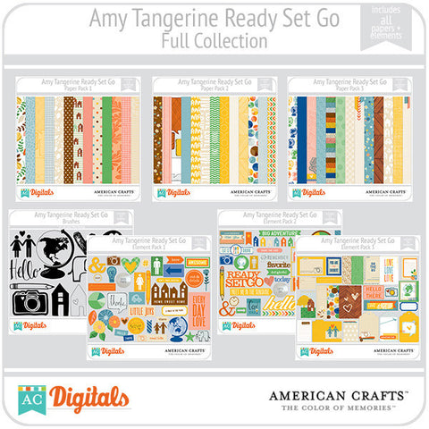 Amy Tangerine Ready, Set, Go Full Collection