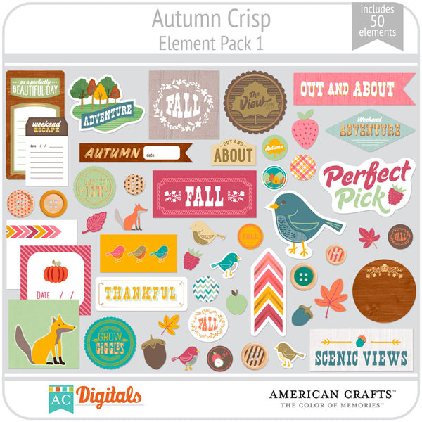 Autumn Crisp Element Pack 1