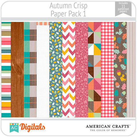Autumn Crisp Paper Pack 1