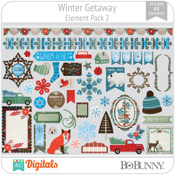 Winter Getaway Element Pack 2