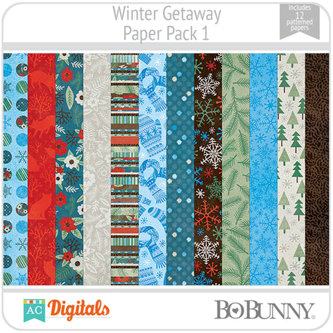 Winter Getaway Paper Pack
