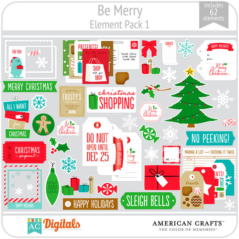 Be Merry Element Pack 1
