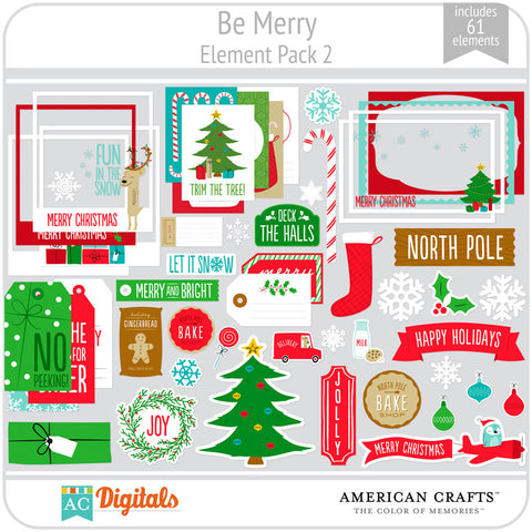Be Merry Element Pack 2