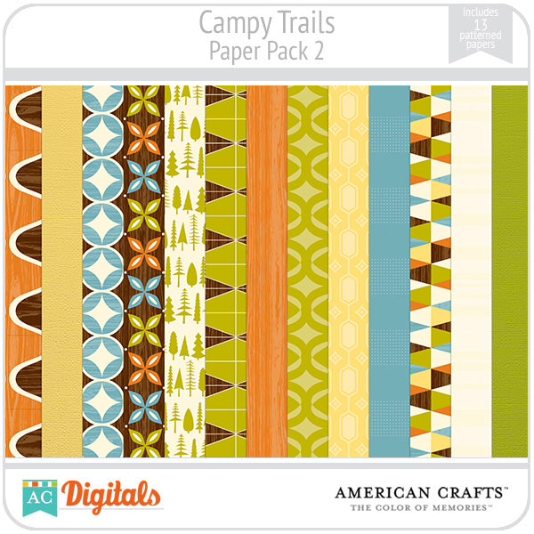 Campy Trails Paper Pack #2