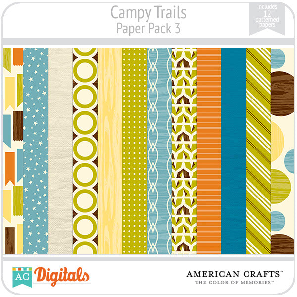 Campy Trails Paper Pack #3