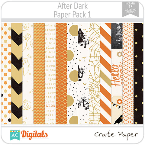 After Dark Paper Pack 1