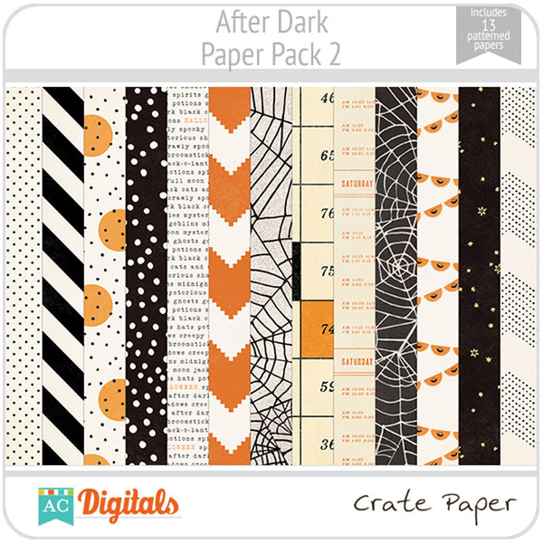 After Dark Paper Pack 2