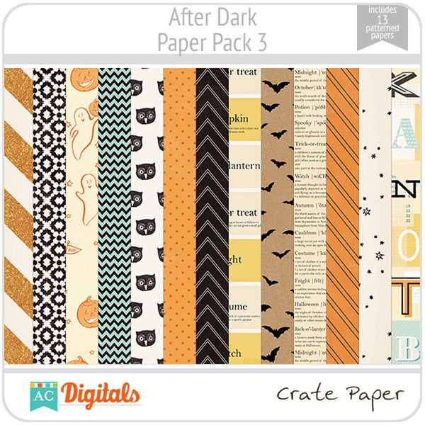 After Dark Paper Pack 3