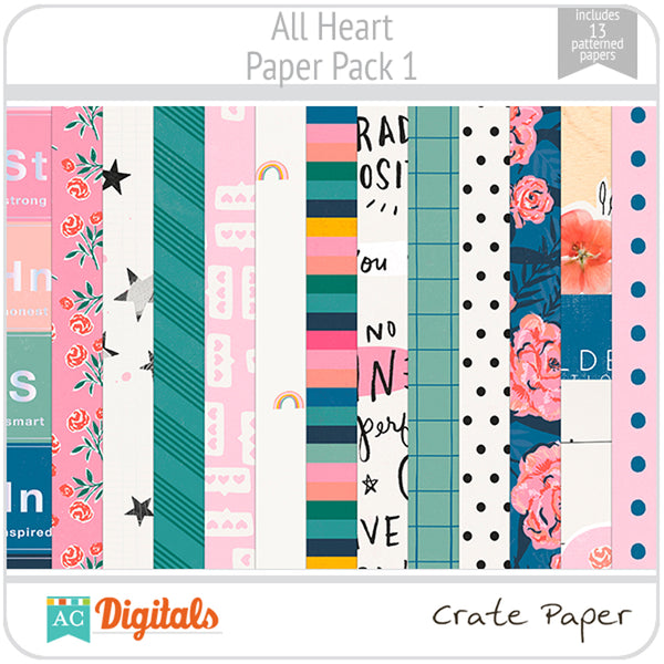 All Heart Paper Pack 1