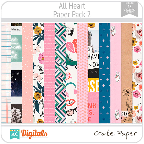 All Heart Paper Pack 2