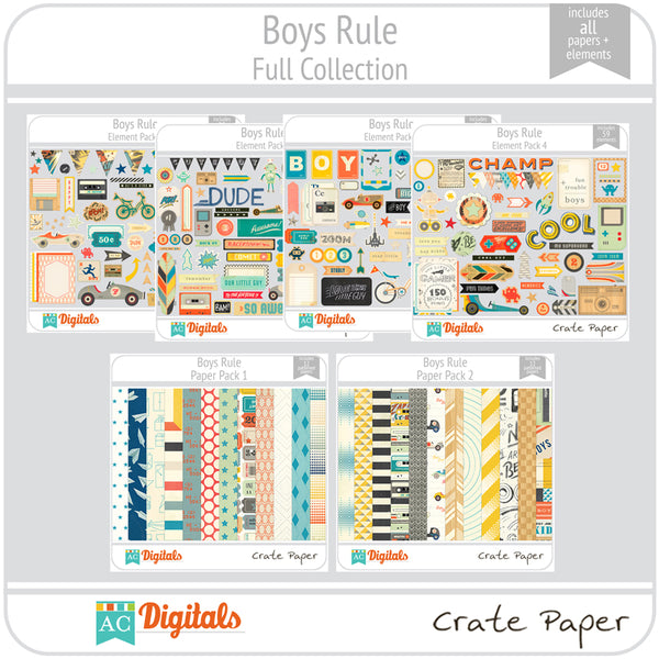 Boys Rule Full Collection