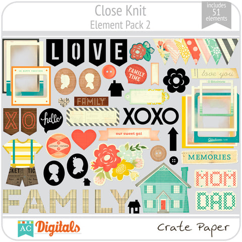 Close Knit Element Pack 2