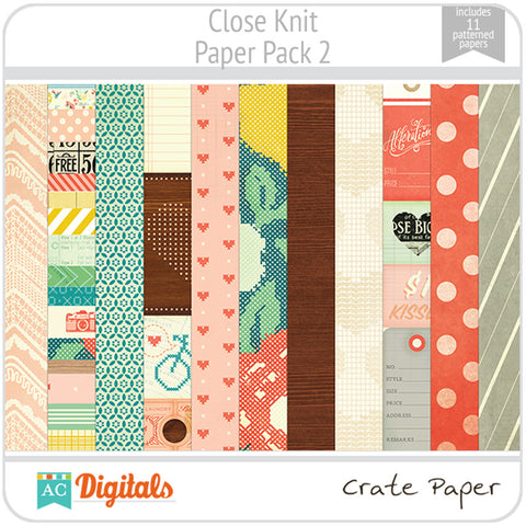 Close Knit Paper Pack 2