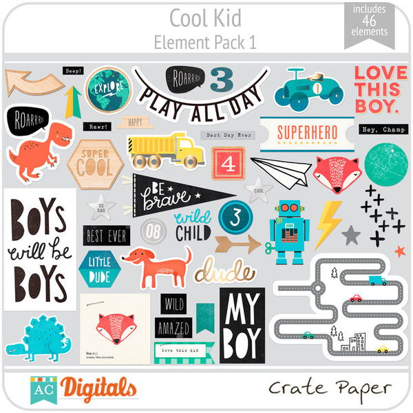 Cool Kid Element Pack 1