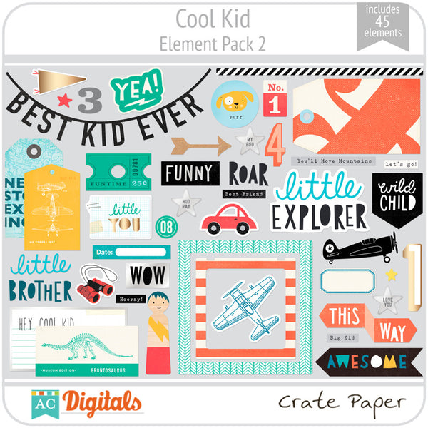 Cool Kid Element Pack 2