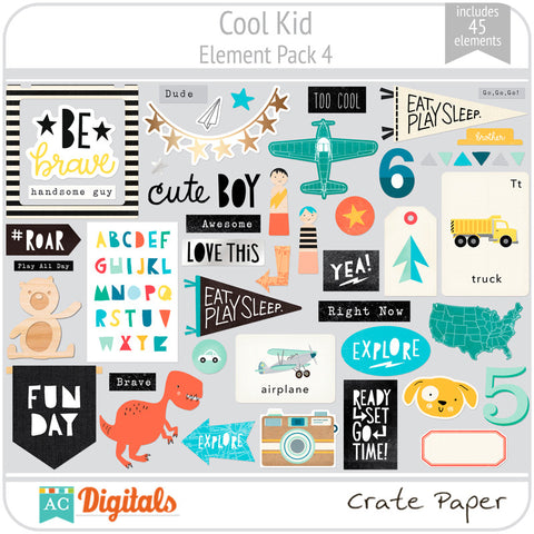 Cool Kid Element Pack 4
