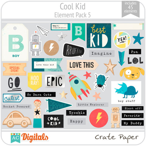 Cool Kid Element Pack 5
