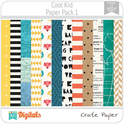 Cool Kid Paper Pack 1