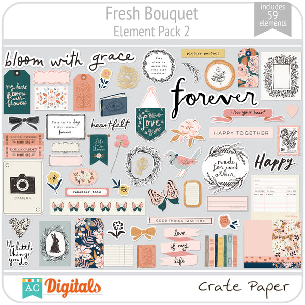 Fresh Bouquet Element Pack 2