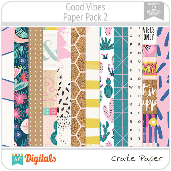 Good Vibes Paper Pack 2