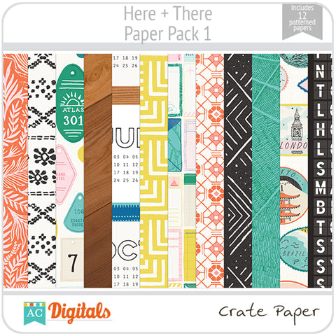 Here + There Paper Pack 1