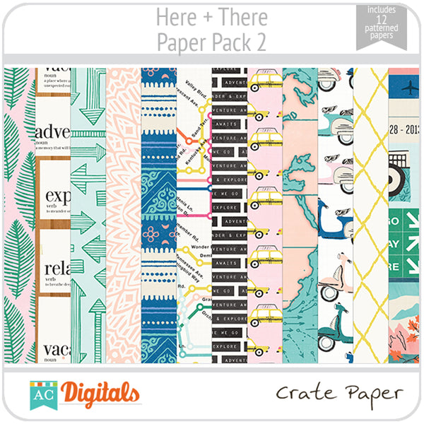 Here + There Paper Pack 2