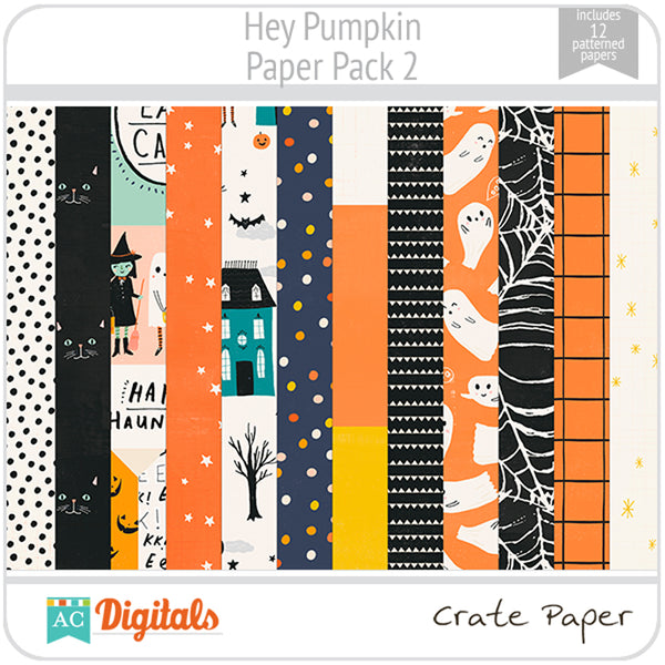 Hey Pumpkin Paper Pack 2