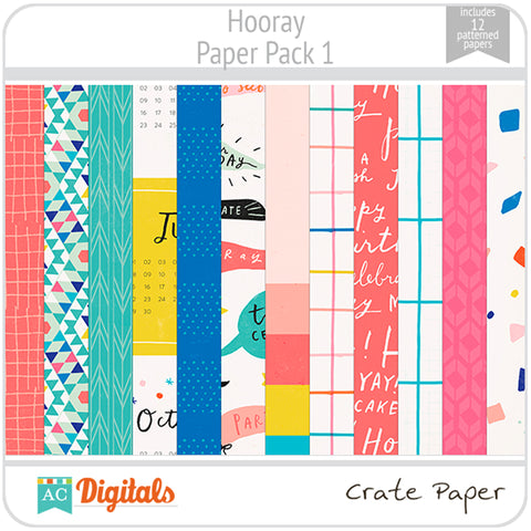 Hooray Paper Pack 1