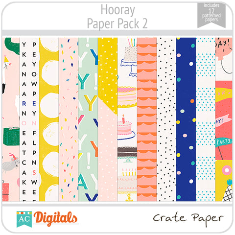 Hooray Paper Pack 2