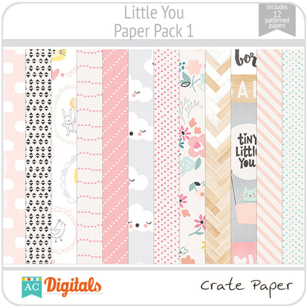 Little You Paper Pack 1