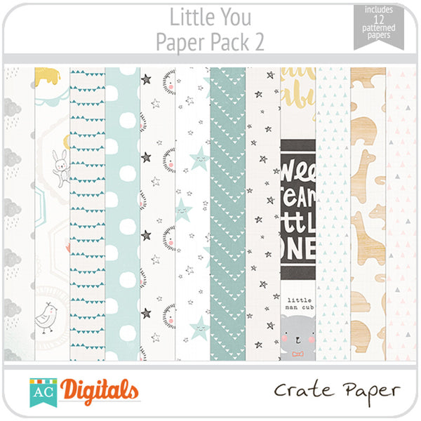 Little You Paper Pack 2